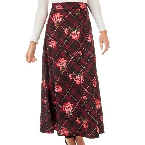 65c1af045 Floral Patterned Maxi Skirt-multi   Konga Online Shopping