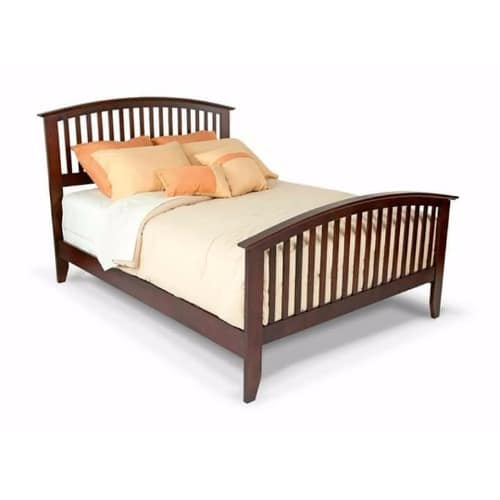 pretty nice 79c1a 01bbe Mahogany Bed-6ft X 6ft X 16 Inches