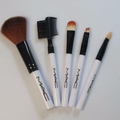 Mac Makeup Brush Set Of 5 Konga