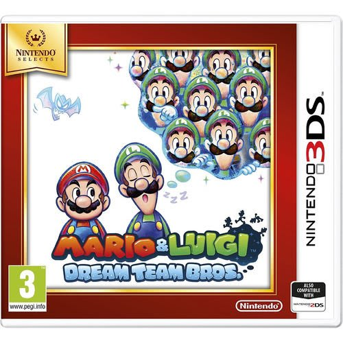 Mario & Luigi : Dream Team Bros - Nintendo 3DS