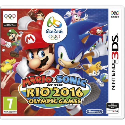 Mario & Sonic : At The Rio 2016 Olympic Games - Nintendo 3DS