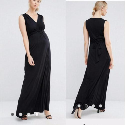 /M/a/Maternity-Black-Knot-Front-Sleeveless-Dress-6009914.jpg