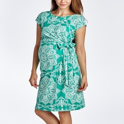 /M/a/Maternity-Cap-Sleeve-Dress-Mint-Green-3873271_4.jpg