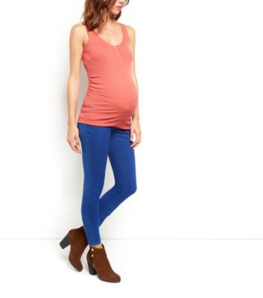 /M/a/Maternity-Top---Ribbed-Popper-Front-Vest---Pink-4234290.jpg