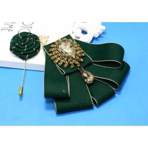 /M/e/Men-s-Bedazzled-Bowtie-with-Lapel-Pin---Green--7040099.jpg