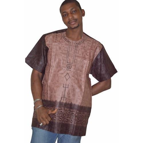 c1b7d6f409351 Fayemz Men's Brocade Traditional T-shirt | Konga Online Shopping