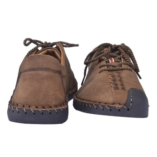Men's Casual Lace-Up Leather Shoe