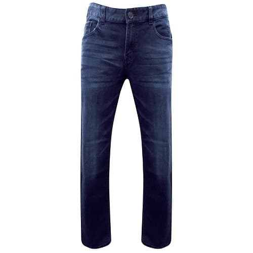 dd4fde83cb1 Hangten Men s Cotton Rich Skinny Fit Jeans