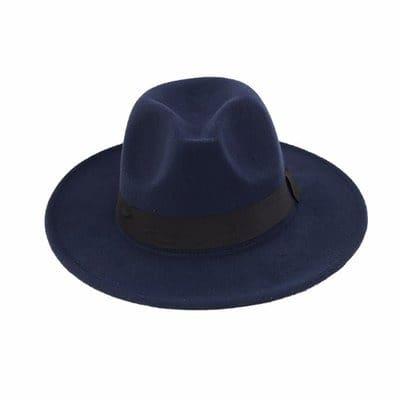 52d68b8398cda7 Men's Fedora Hat - Navy Blue | Konga Online Shopping
