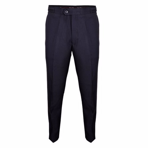 42e3ae189e Men's Formal Trouser With Side Buckle Adjuster - Dark Grey
