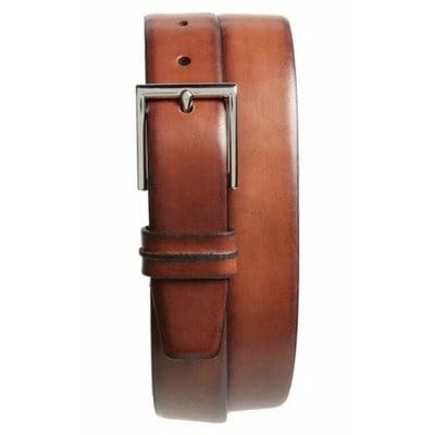 d05f618b38f Men s Leather Belt with Engraving - Brown