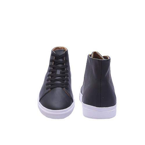 50012174e Men's Minimal High Tops - Black