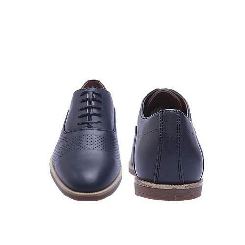 85605ded41834 Zara Man Men's Perforated Work Shoe - Navy Blue | Konga Online Shopping