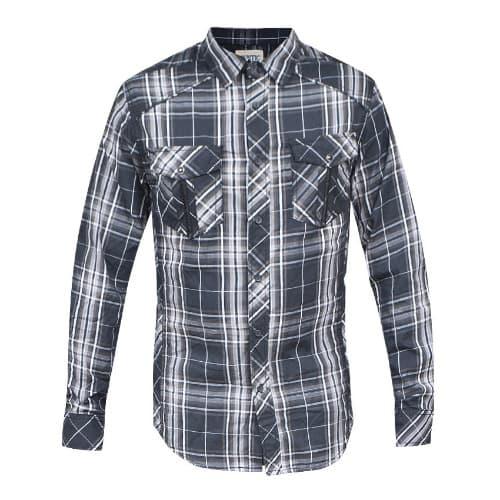 Men's Plaid Woven Shirt