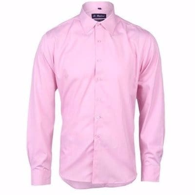 9c1867dd Men's Plain Long Sleeve Shirt - Pink | Konga Online Shopping