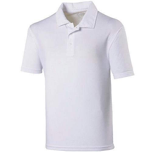 0162d8d1 Men's Plain Polo T-Shirt - White
