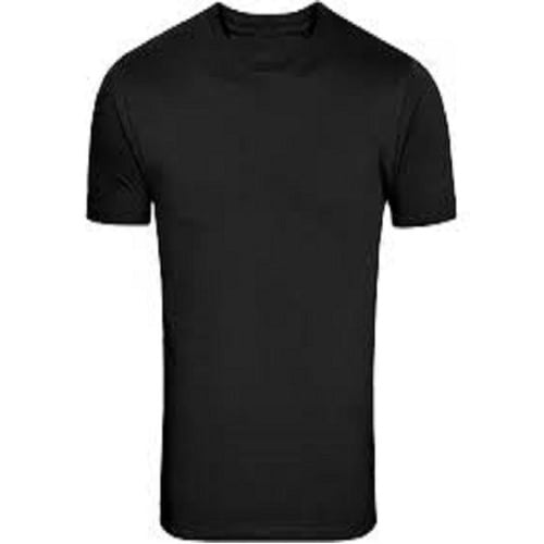 852bad60723bd1 Men's Plain Short Sleeve Round Neck - Black | Konga Online Shopping