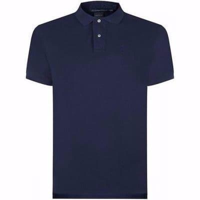 393163c2 Men's Polo Shirt - Navy Blue