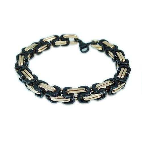 /M/e/Men-s-Prestige-Two-Tone-Link-Bracelet---Rose-Gold-Black-8041726.jpg