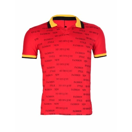d6b76ad9 Men's Print Polo Shirt - Red | Konga Online Shopping