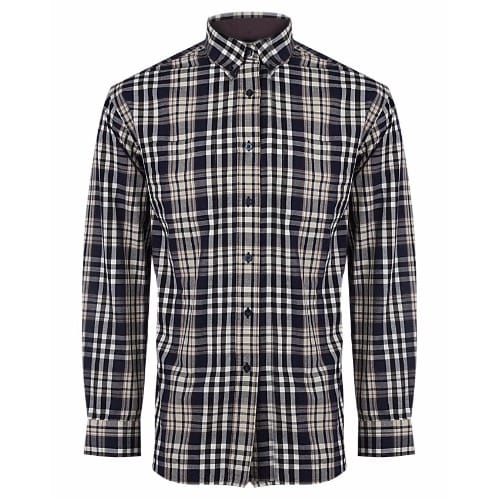 Men's Regular Pocket Check Shirt - Multicolour