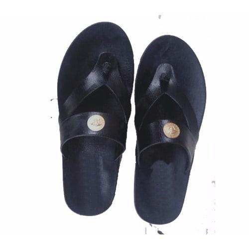 9ba6e7609621 Slippers Men S Black Rubber