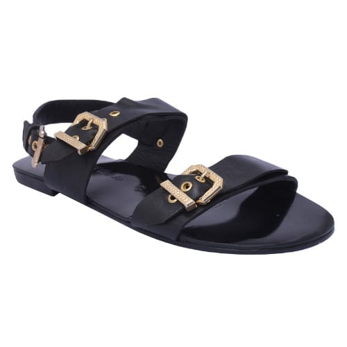 /M/e/Men-s-Sandals-with-Gold-Buckles---Black-Free-Gift-7457900_2.jpg