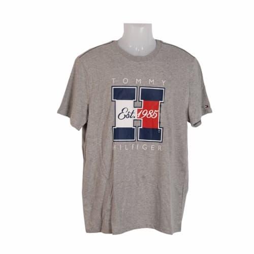 fbc9543f52e71 Tommy Hilfiger Men s Short Sleeve Crew Neck Flag Graphic T-Shirt ...