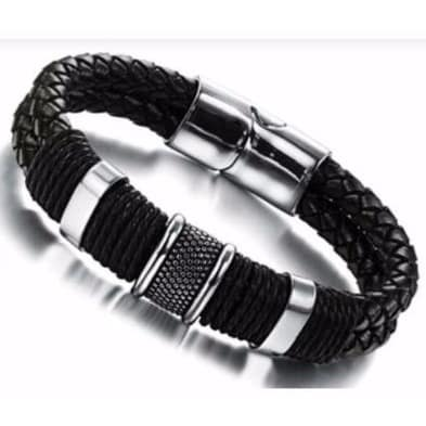 /M/e/Men-s-Silver-Steel-Rope-Pendant-Leather-Bracelet---22cm-Black-6684471.jpg