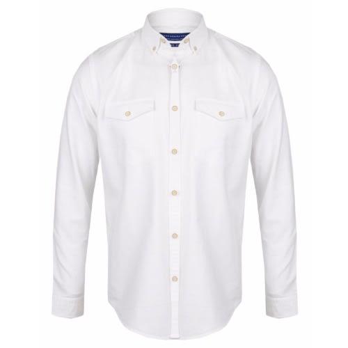 Zara Men S Slim Fit Oxford Shirt White Konga Online Shopping