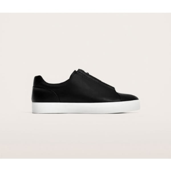 840c8cb740609 Zara Men's Punched Lace-Up Shoe - Navy | Konga Online Shopping