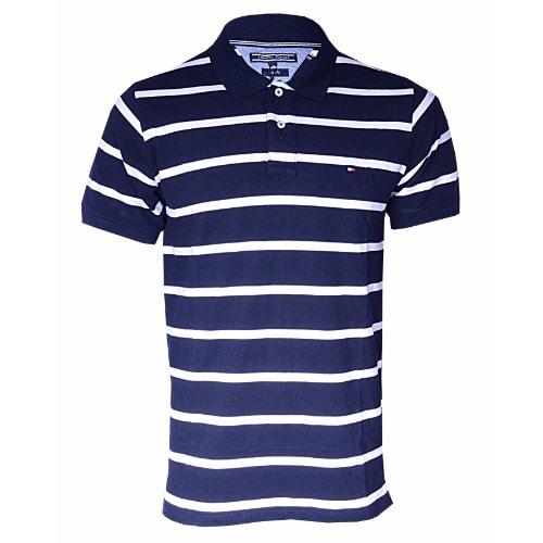 cb103058 Men's Striped Polo T-shirt - Navy Blue   Konga Online Shopping