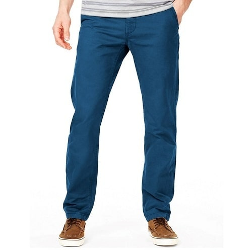 Marks and Spencer's Teal Coloured Chinos