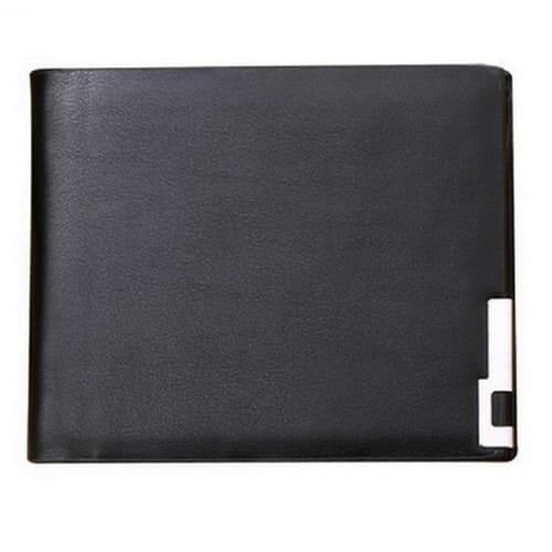cc8e038ee351 Men's Transverse Pu Leather Wallet - Black