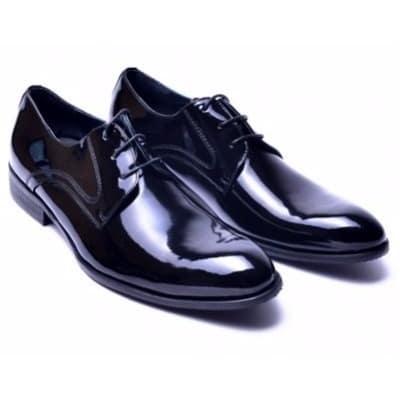 Mens Wedding Shoes.Men S Wetlooks Wedding Shoe Black