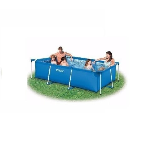 Buy Intex Metal Frame Rectangle Pool in Swimming & Outdoor from ...