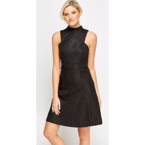 /M/e/Metallic-Embossed-High-Neck-Dress---Black-7985111.jpg