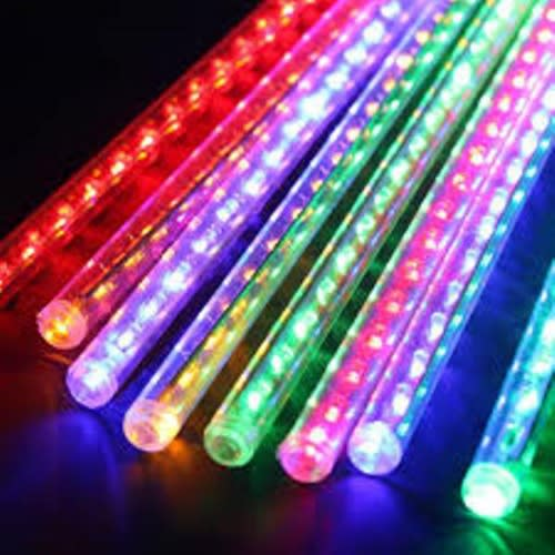 Meteor Rain Light Shower Tubes Light Multi LED Drop 8 ChristmasDecoration Colour EHeW2DY9I