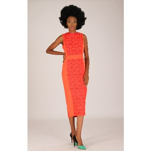 /M/i/Midi-Lace-Dress---Orange-with-Red-leather-Neck-Collar-Detail-6474469_4.jpg