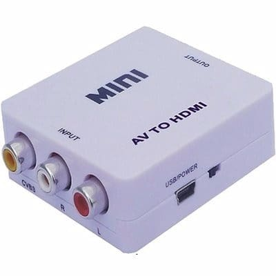 Mini AV to HDMI Converter