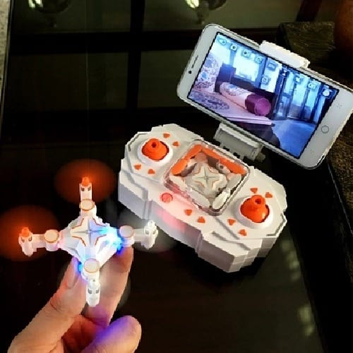 /M/i/Mini-Foldable-Wifi-FPV-0-3MP-RC-Quadcopter-Pocket-Drone-With-Flashing-Lights---Orange-7430456_2.jpg