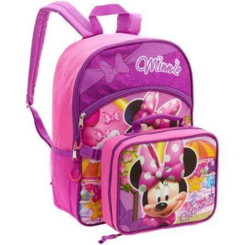 803b0e79bc3 Disney Minnie Mouse Backpack   Lunch Box