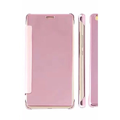 sports shoes 35522 d75ea Mirror Clear View Smart Flip Case for Huawei Mate 8 - Rose Gold