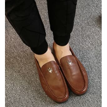 3022d4ad2b4b9 Moc Toe Loafers - Brown