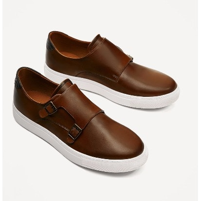 Zara Monk Sneakers with Rubber Sole