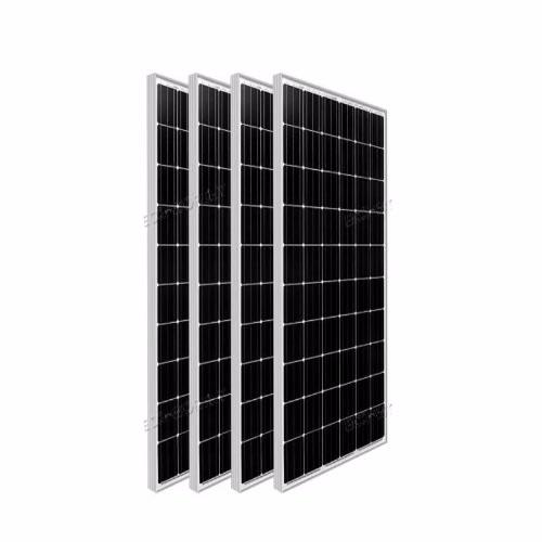 Monocrystalline Solar Panels - 4 Pieces - 24v - 300watts