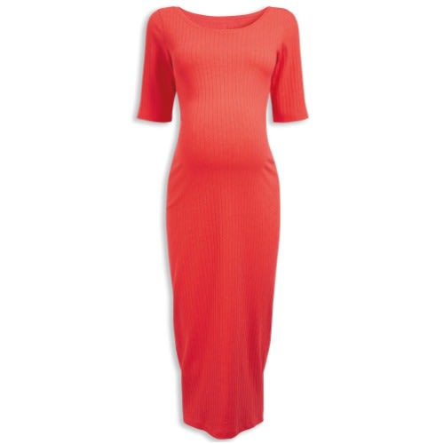 9d8fc1ff41551 Next Red Ribbed Maternity Dress | Konga Online Shopping