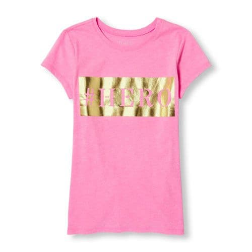 The Childrens Place Girls Short Sleev