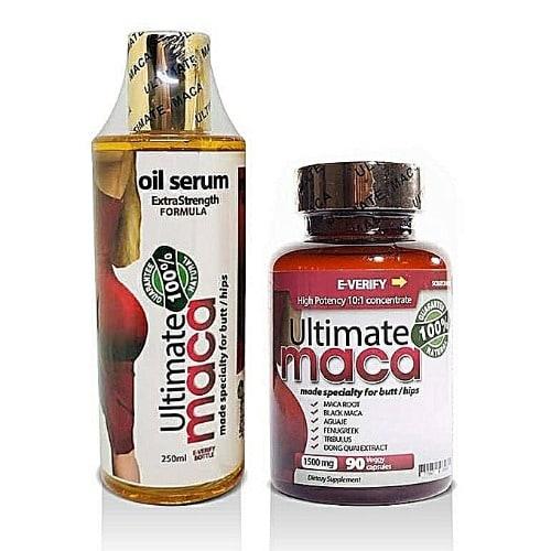 Ultimate Maca X3 Ultimate Maca Pill And Serum Combo