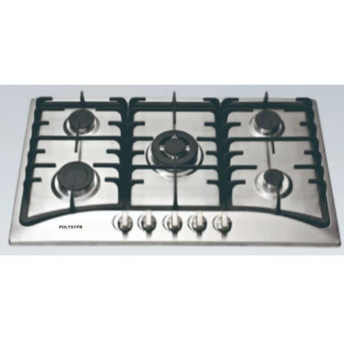 5 Burners Gas Hob Stainless - Pv-113a5